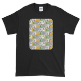Flower Cups Short-Sleeve T-Shirt - Black