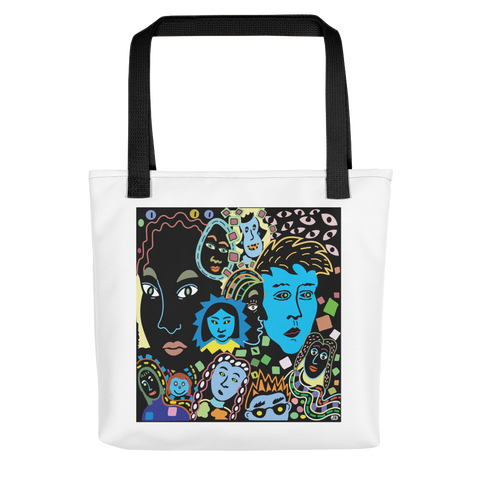 Women Faces Tote bag