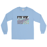 Glacier Fish - Men's Long Sleeve Shirt