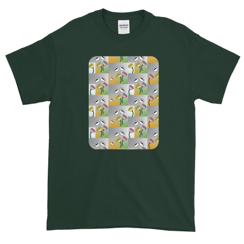 Flower Cups Short-Sleeve T-Shirt - Forest