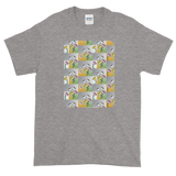 Flower Cups Short-Sleeve T-Shirt - Sport Grey