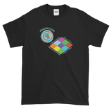 Imagination Precedes Reality Short-Sleeve T-Shirt - Black