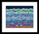 Swimming Fish - Framed Print