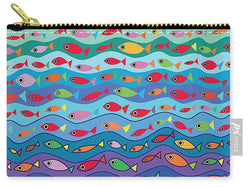 Swimming Fish - Carry-All Pouch