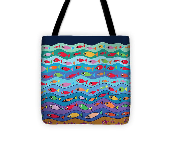 Swimming Fish - Tote Bag