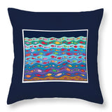 Swimming Fish - Throw Pillow