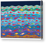 Swimming Fish - Acrylic Print