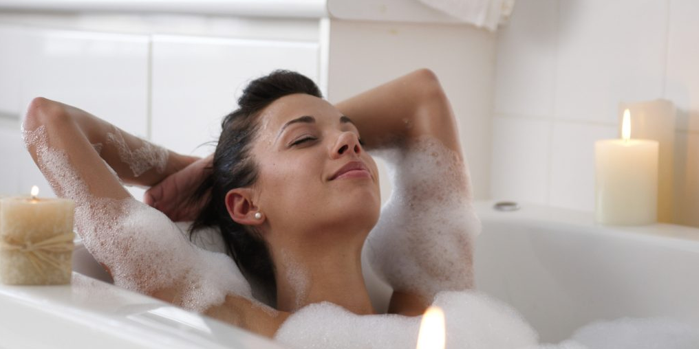 Why Taking A Bath Before Bed Is Key