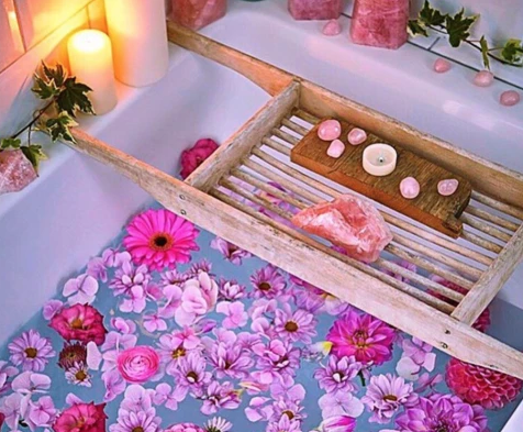 How To Create The Perfect Bath <3