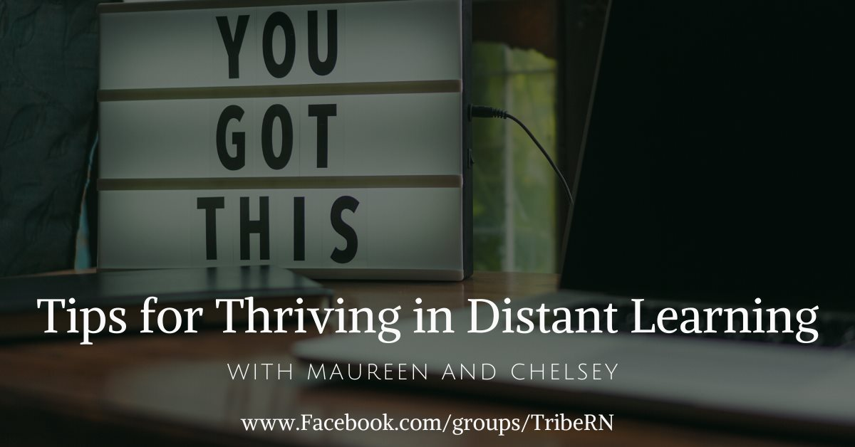 Q&A - Tips for Thriving in Distant Education