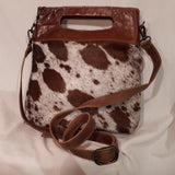 Handbag - Cowhide and Leather