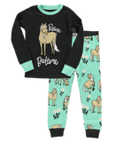 Lazy One Kids' PJ Set - Pasture Bedtime