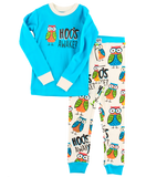 Lazy One Kids' PJ Set - Hoo's Awake