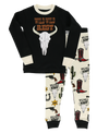 Lazy One Kids' PJ Set - Wild Wild Rest