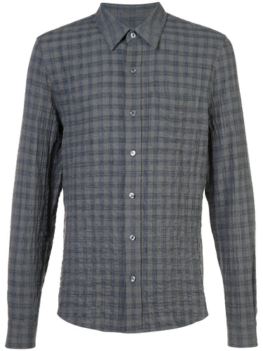 Textured Plaid Classic Shirt