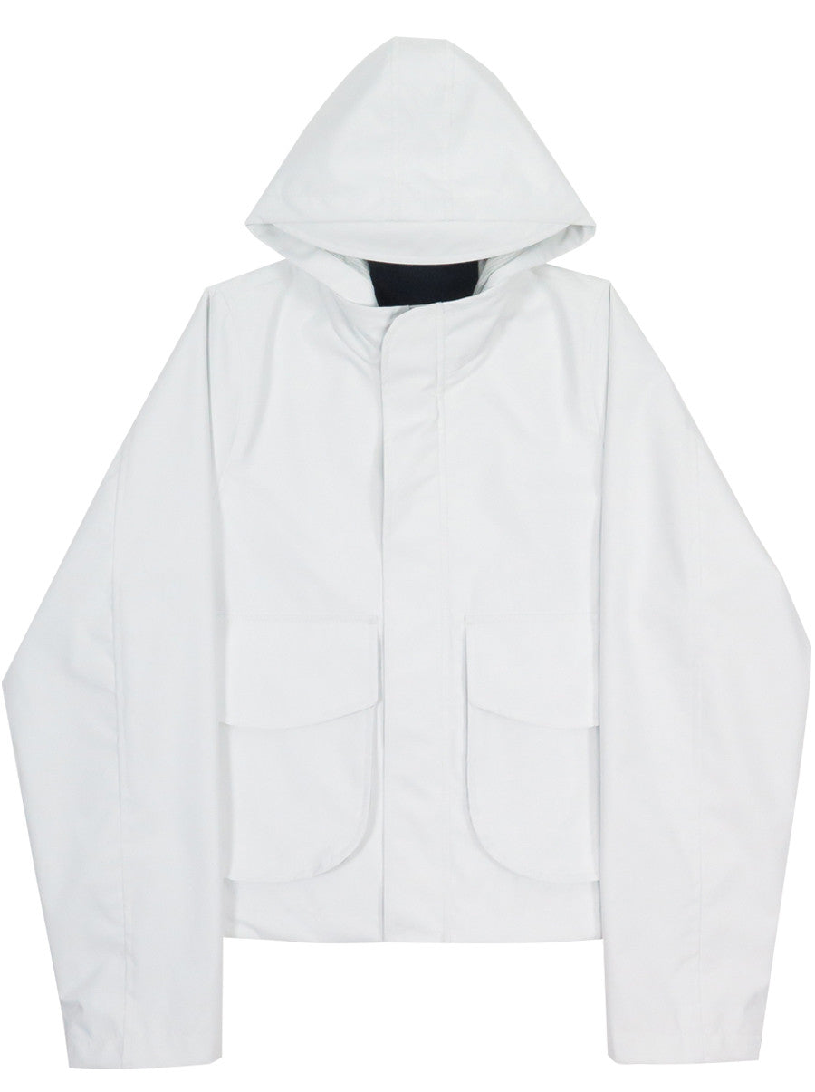 Cropped Foul Jacket Grid Tech