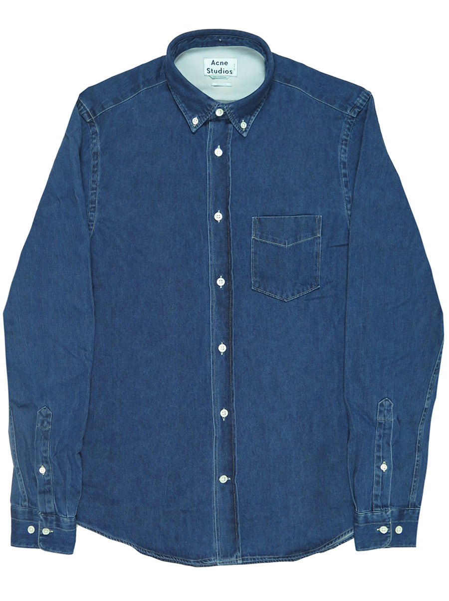 9493ae3635a Isherwood Rinsed Denim Shirt – Odin New York