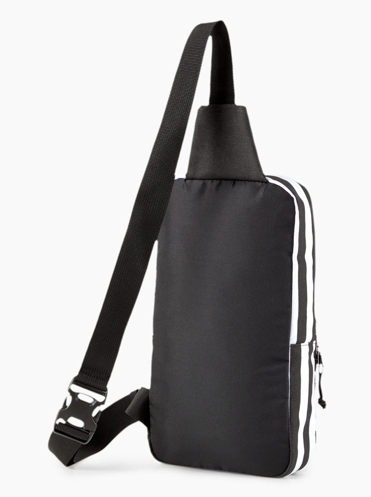Striped Crossbody Daypack