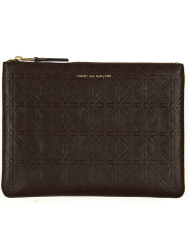 SA5100EA Embossed Large Pouch