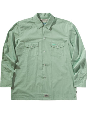 Woven Long-Sleeve Work Shirt