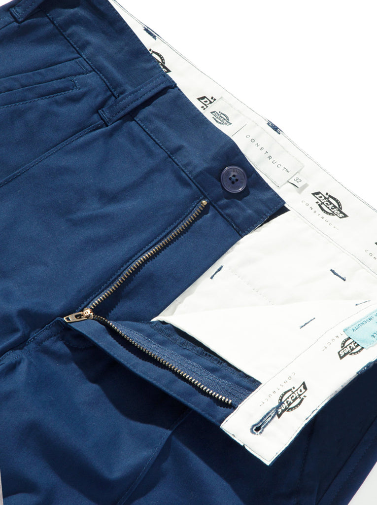 Straight Slim Pintuck Pant
