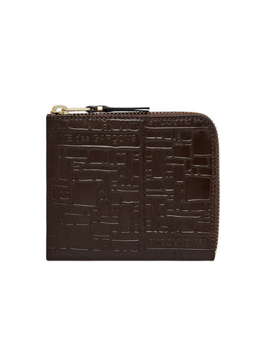 SA3100EL Embossed Logo Wallet