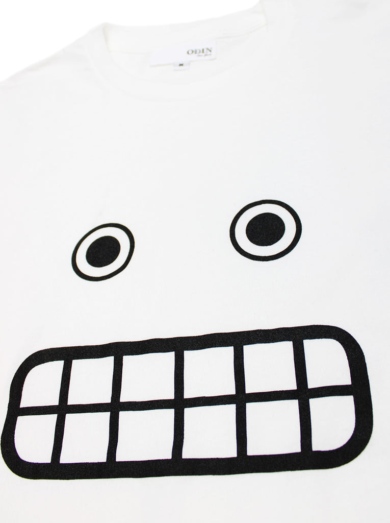 Grin Face Screened Tee