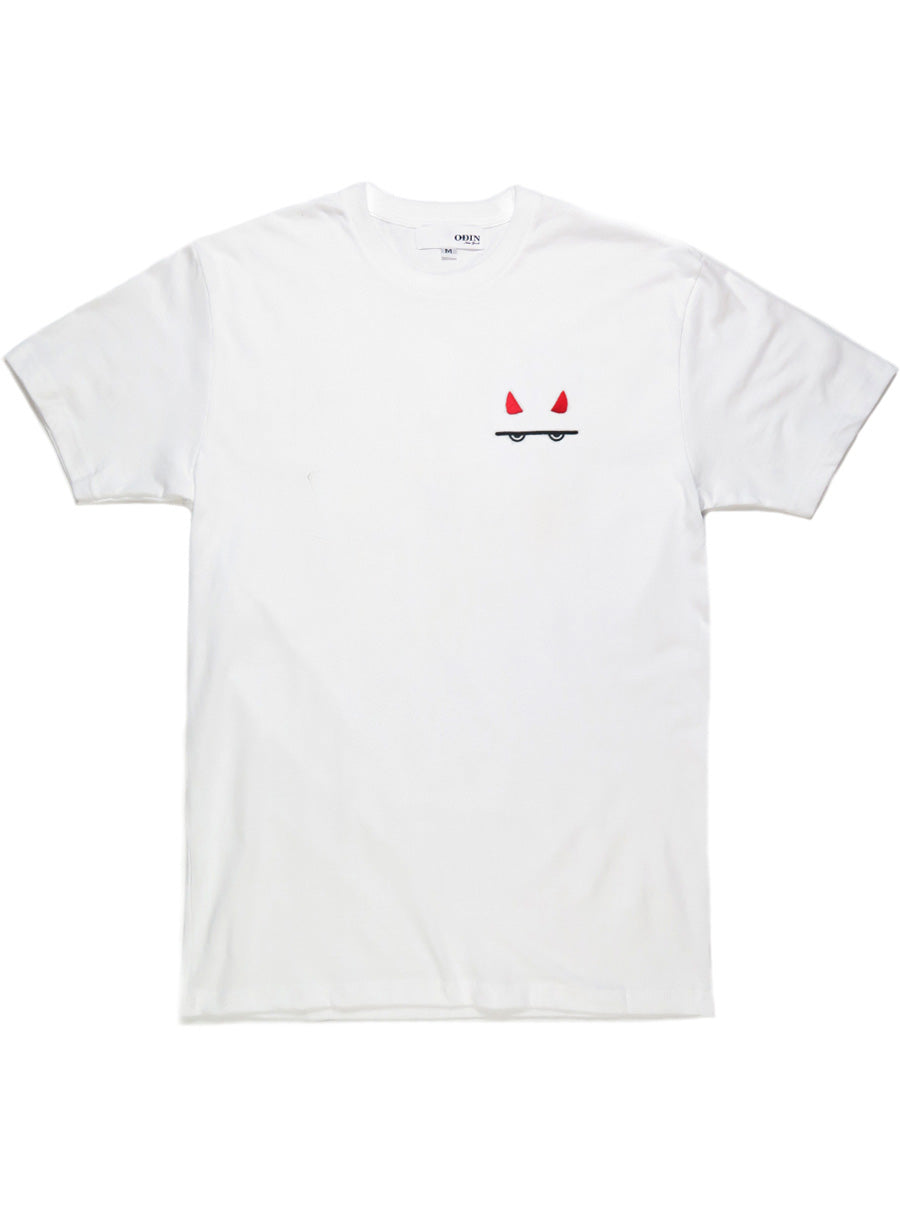 Devil Embroidered Tee
