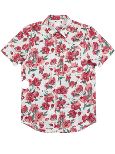 Floral Short-Sleeve Shirt