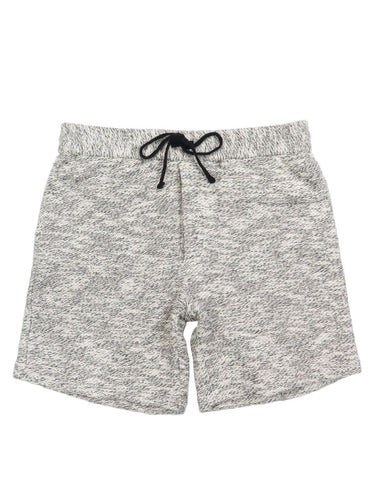 Textured Drawstring Short