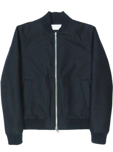 Hughes Bomber Italian Washed Flannel