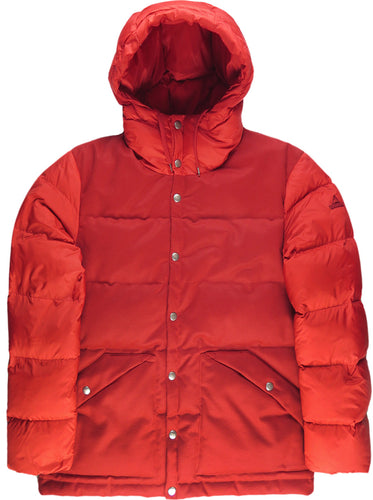 Deep Powder Down Jacket in Red