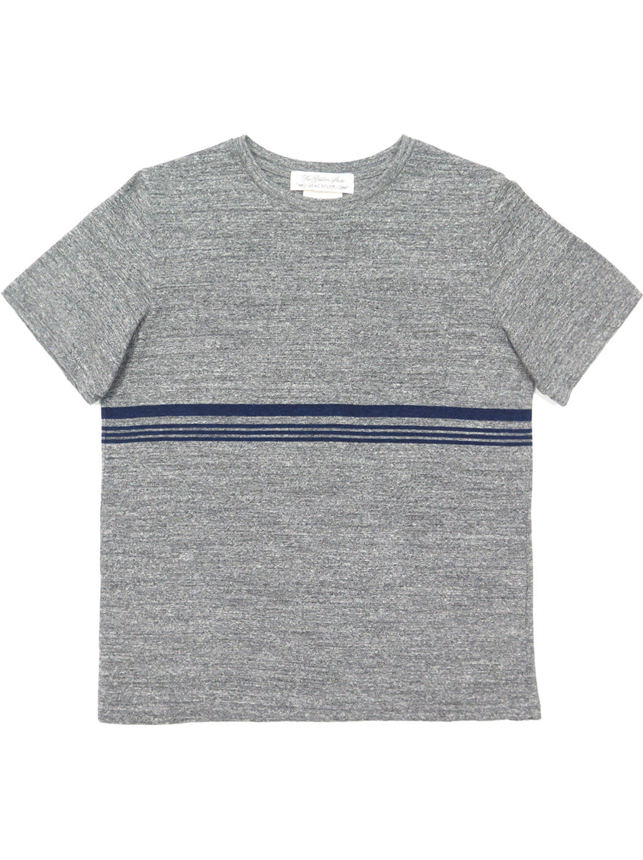 Indigo JQ Striped Tee