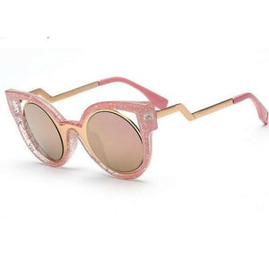 Cat Eye Retro Sunglasses - Gallore Shop