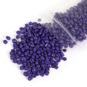 purple hair removal wax beans