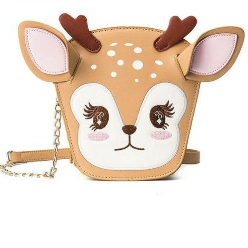 Christmas Deer Shoulder Bag-Gallore Shop