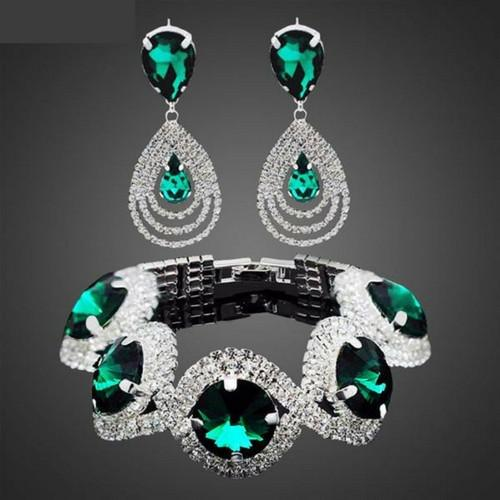 bracelet and earring set - Gallore Shop
