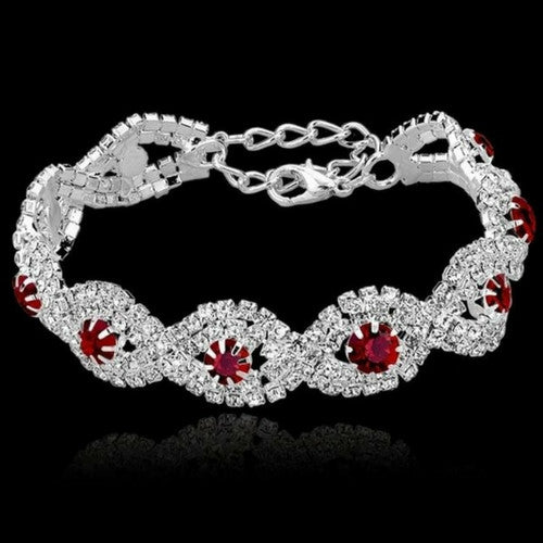 bracelets with rhinestones