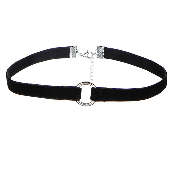 black necklace choker