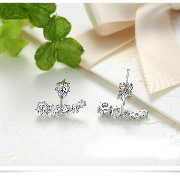 silver earrings for women