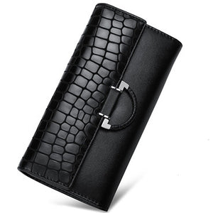 women leather wallet
