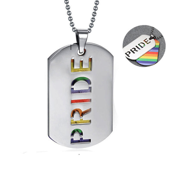gay pride necklaces