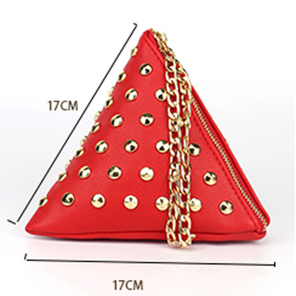 Triangle Shaped Small Handbags-Gallore Shop