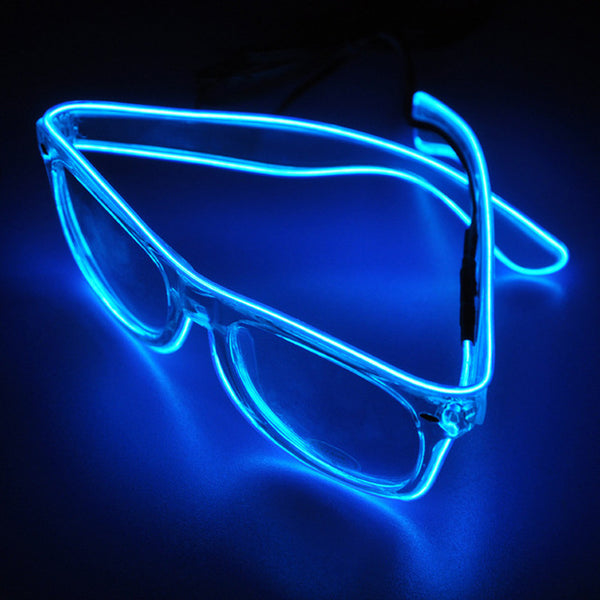 Neon LED Light Up Halloween Glasses - Gallore Shop