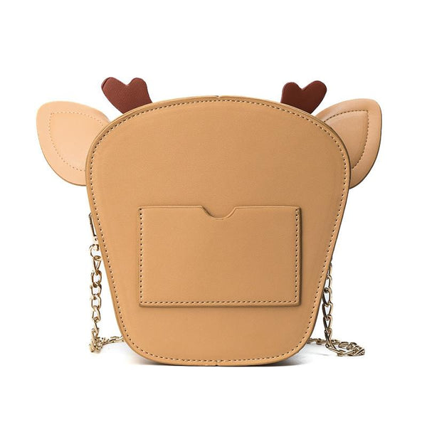 Christmas reindeer purse