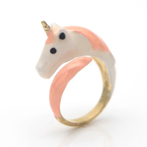 adjustable unicorn ring - Gallore Shop