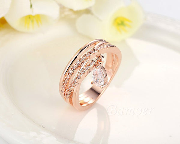 Gold Fashion Rings-Gallore Shop