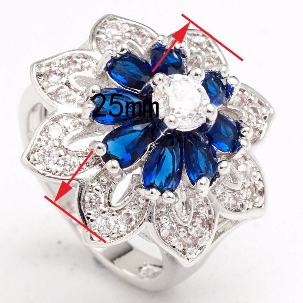 silver fashion rings