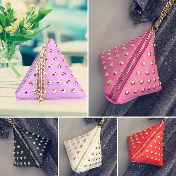 Triangle Shaped Small Handbags - Gallore Shop