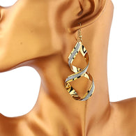 modern drop earrings